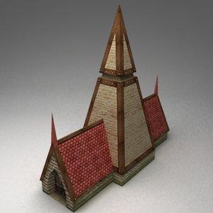 storehouse house 3d model