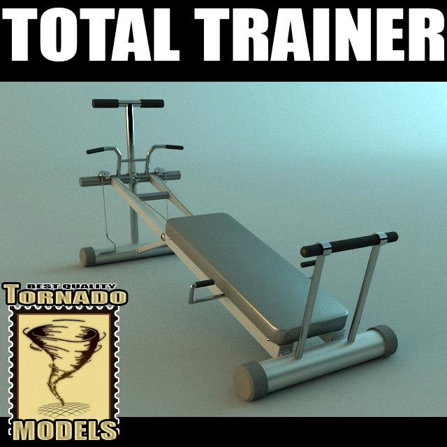 max total trainer machine