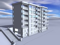 building playground street 3d 3ds