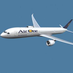 a350-1000 air 3d model