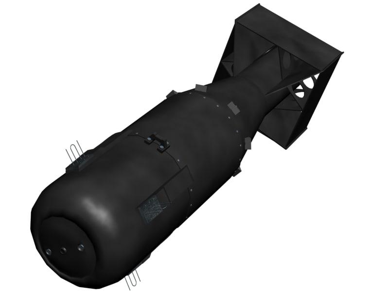free bomb 3d model