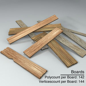 old boards 3d 3ds