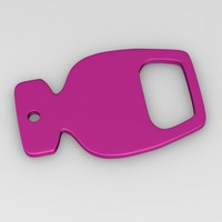 bottle opener 3d 3ds