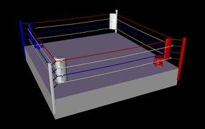 cinema4d boxing ring