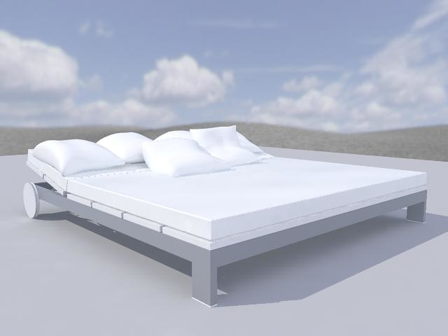 3d bed chill model