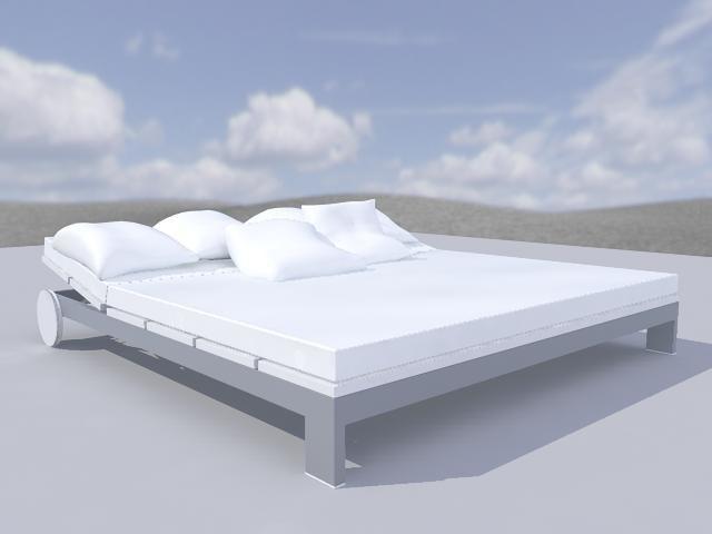3d bed chill model
