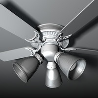 cinema4d ceiling fan
