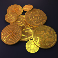 3d aztec gold