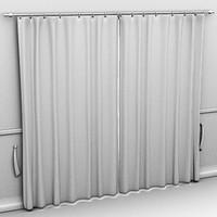 Curtains Drawn Closed