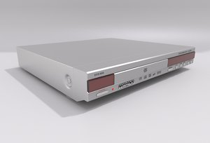 dvd player - compacks 3d model