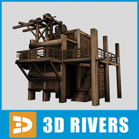 Mine elevator by 3DRivers