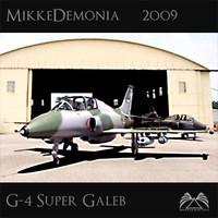 g-4 super galeb 3d model