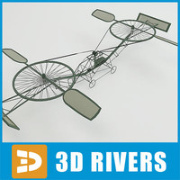 3d helicopter 20th century