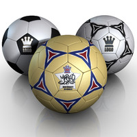 football soccer 3d model