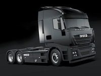 3d model iveco stralis