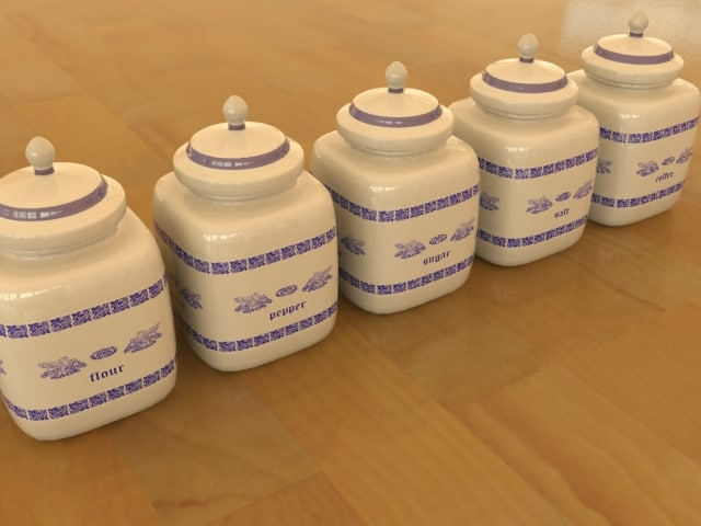 3ds max jar kitchen