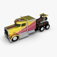 Jet Truck Model