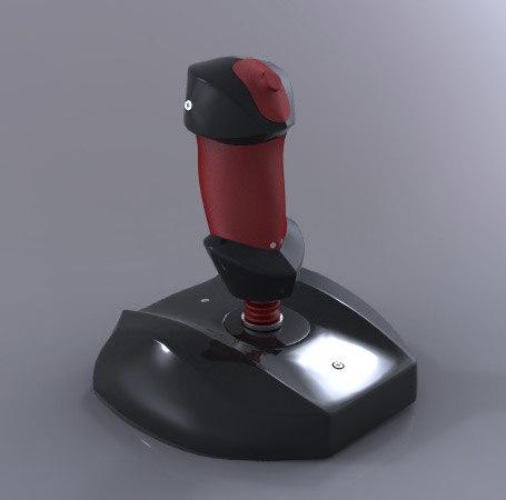 3d model joystick