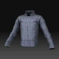 obj long sleeve collar