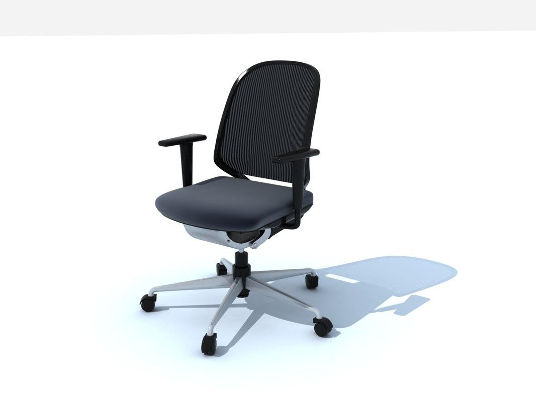 3d medapal vitra office chair model
