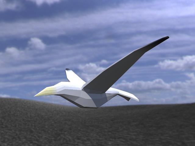 3ds max bird animateds