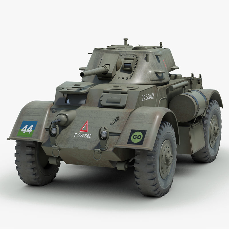 t17 e staghound armored 3d max