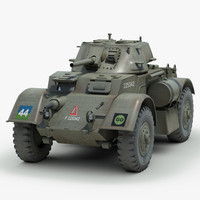 T17 E Staghound armored vehicle