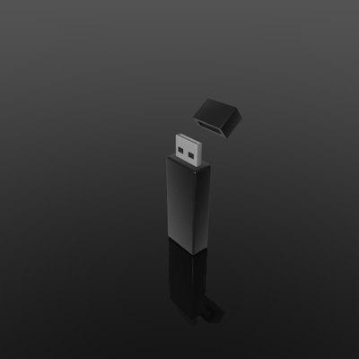 3d model usb stick
