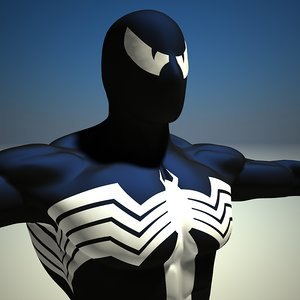 venom dddfantast 3d model