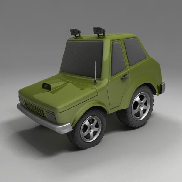3d 3ds car