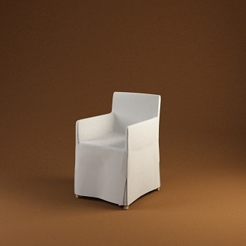 chair cloth 3d model