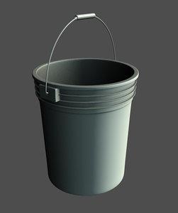 bucket handle paint 3d model