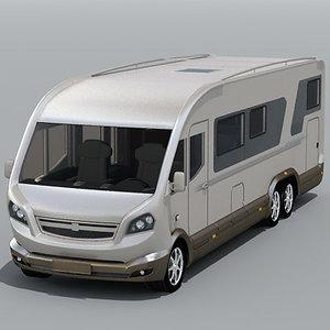 motor home 3d model