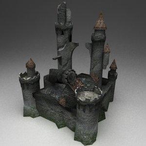 maya castle ruins