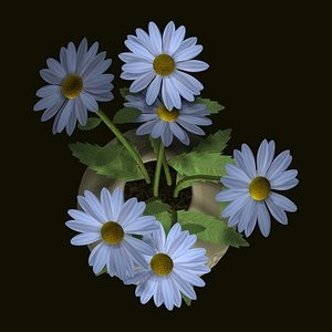 3ds max daisys oxeye