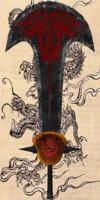 3d obj swords dragons