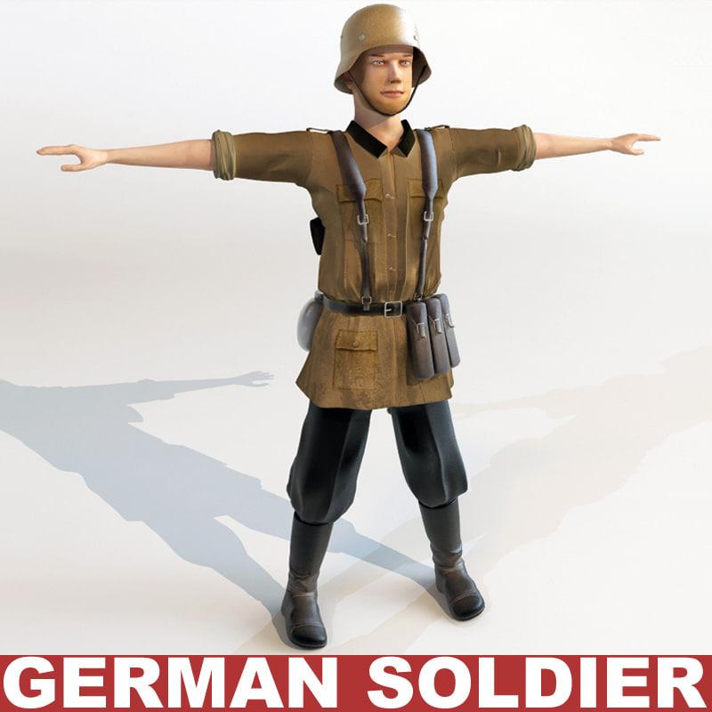 german soldier 3d 3ds