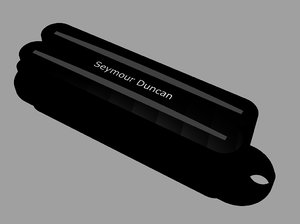 seymour duncan hot rails 3d 3dm