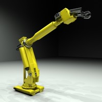 industrial robot 3ds