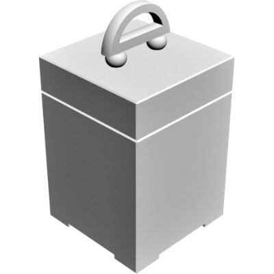 3d decorative box model