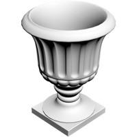 planter vase 3d model