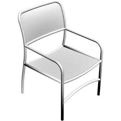 contemporary chair obj