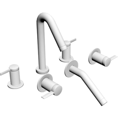 3d model contemporary faucet