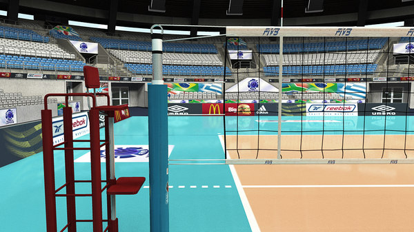 volleyball arena max
