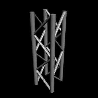 free 3ds model steel truss