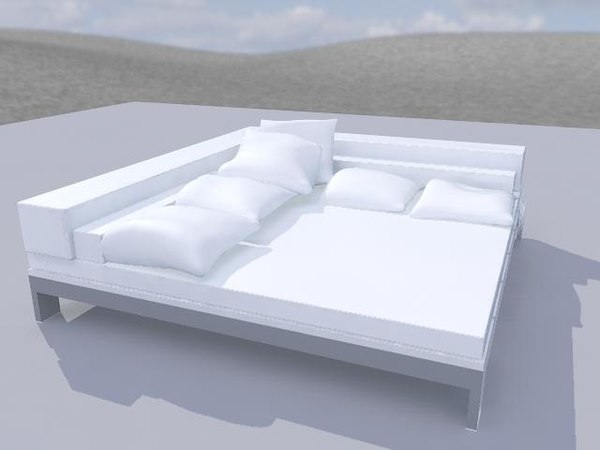 3ds max bed chill