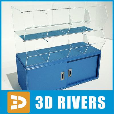 3d dried fruit display model