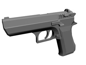 3d imi jericho 941 pistol