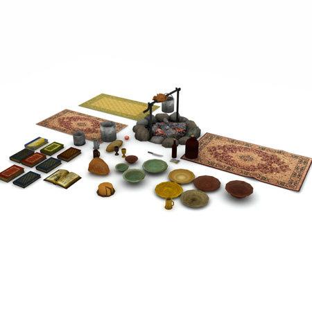 3d model medieval fantasy