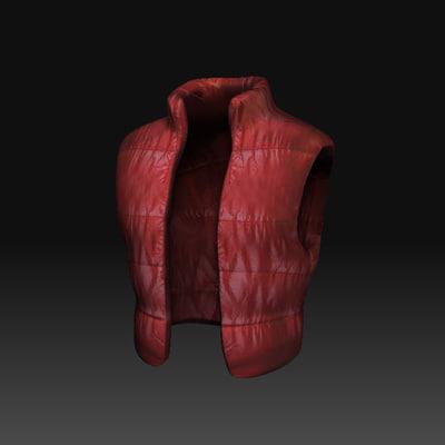 3d vest jacket